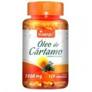 Óleo de Cartamo 1000 mg 120 Cápsulas Softgel - Tiaraju