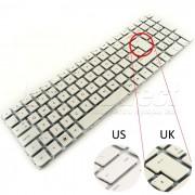 Tastatura Laptop HP PAVILION G6-2000 alba layout UK + CADOU