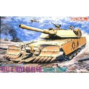 DML Dragon 1:35 M1A1 Abrams w/ Mine Plough Desert Storm Plastic Kit #3516