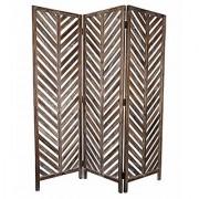 Shilpi Handicrafts Leaf Design Decor Wooden Partition Wooden Room Divider