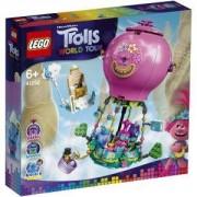 Конструктор Лего Тролчетата - Приключението с балон на Poppy - LEGO Trolls World Tour, 41252
