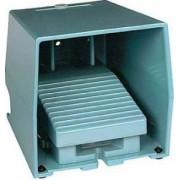 Comutator de picior simplu - ip66 - cu capac - metalic - albastru - 2 nc + 2 no - Comutator de picior - Harmony xpe - XPEM611 - Schneider Electric