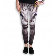 pantalon femmes (leggings) SPIRAL - CAT'S TEARS - Noir - D070G456