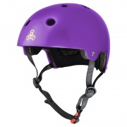Casca Triple 8 Certified Purple Glossy