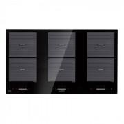 Klarstein Virtuosa Flex 90 table de cuisson à induction 6 zones 10800W vitrocéramique noire