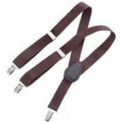 Eccellente Y- Back Suspenders for Men(Brown)