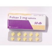 FOLSAV 3MG TABL. 50X
