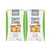 Sensilab CiderFit STRONG 1+1 GRATIS Getränk zum Abnehmen mit Apfelessig Apfelaroma - ohne unangenehmen Essiggeschmack 20-tägige Kur 2x 10 Beutel