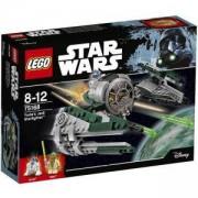 Конструктор Лего Стар Уорс - Корабът на учителя джедай Йода - LEGO Star Wars, 75168