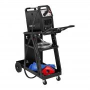 Carrello per trasporto saldatrice -piegato - 3 superfici di appoggio - 75 kg
