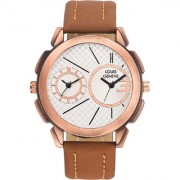 Louis Geneve Isport Series Analog Watch For Men LG-MW-SL-BROWN-195