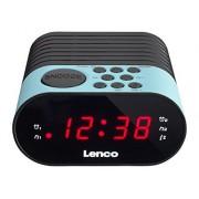 Lenco CR-07 radio Orologio Nero, Blu