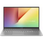 Ultrabook ASUS VivoBook 15 X512 Intel Core (8th Gen) i3-8145U 256GB SSD 4GB FullHD FPR Tastatura iluminata Transparent Silver