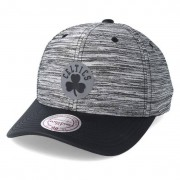 Mitchell & Ness Keps Boston Celtics Swish Grey/Black Adjustable - Mitchell & Ness - Grå Reglerbar