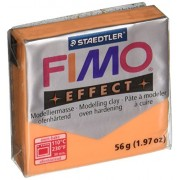 Fimo Soft Polymer Clay 1.97 Ounces-8020-404 Transparent Orange