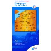 Wegenkaart - landkaart 6 Champagne, Ile de France | ANWB Media