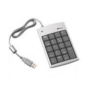 Targus Teclado Numérico Ultra Mini, USB, Plata