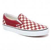 Vans Tenisówki Vans Classic Slip-On checkerboard rumba red