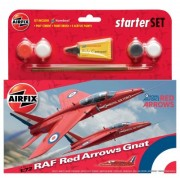 KIT CONSTRUCTIE AVION RAF RED ARROWS GNAT (55105)