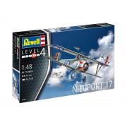 Modelul de aeronavă din plastic ModelKit 03885 - Nieuport 17 (1:48)