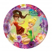 Set 8 farfurii party Fairies Magic 23 cm