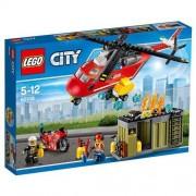 Lego - city pompieri unità di risposta antincendio