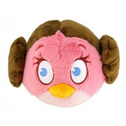 Angry Birds Star Wars Plush Bird Princess Leia, 8 Inch