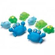 Комплект детски играчки за баня, Животинки, Play Gro, 076666