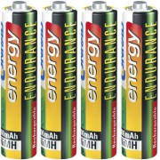 Set 4 acumulatori NiMH, AAA, 1,2 V, 800 mAh, Conrad energy Endurance