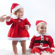 Costum de Moș Crăciun pentru copii, 12-18 luni