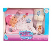 """Waterbabies 16"""" 25Th Anniversary - Special Delivery Baby Doll With Playset Blonde"""
