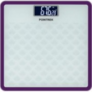 POINTREK DIGITAL ELECTRONIC LCD PERSONAL HEALTH BODY CHECKUP FITNESS Weighing Scale(White)