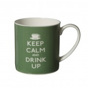 "Cana de portelan ""Keep Calm and Drink Up"""