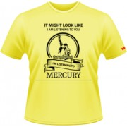Listening to Mercury - galben - Stedman - L