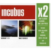 Video Delta Incubus - X2 (Morning Viewmake Yourself) - CD