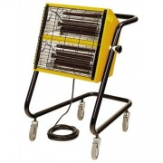 Incalzitor electric cu raze infrarosii HALL 3000 MASTER, mobil cu roti, putere calorica 3kW, alimentare 230V