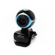 Camera web Mediatech Look II 0.3 MP USB 2.0 Black Blue