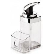 KT1159 Pumpás szappanadagoló szivacstartóval 650 ml-es tartállyal