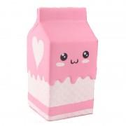 SQUISHY Milk Box Pink Cutie Lapte Roz