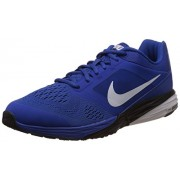 Nike Men's Tri Fusion Run Msl Game Royal, White and Black Running Shoes -7 UK/India (41 EU)(8 US)