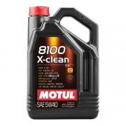 MOTUL 8100 X-clean 5W-40 5L motorolaj