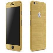 Apple iPhone 6 Plus / 6s Plus FoliaTa Skin Kit Carbon Fata / Spate, Gold