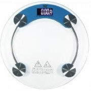 GVC Virgo Temperature with Battery indicator and Step-on Activation Weighing Scale(Blue)