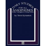 Trent Kynaston Daily Studies for Saxophones: Scales, Arpeggios & Tuning Etudes