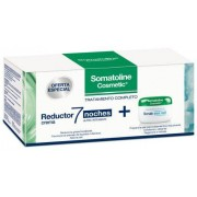 SOMATOLINE - Pack reductor 7 noches ultraintensivo crema 450ml + crema exfoliante sal marina 350g