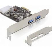 Adaptor Delock PCI Express la 2x USB 3.0