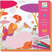 Djeco Art Kit All my Beautiful Dresses (rubbings)