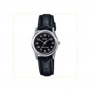 Reloj Analógico Mujer Casio LTP-V002L-1B - Negro