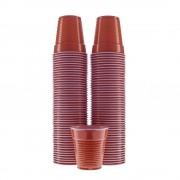 Pahare Plastic Unica Folosinta, 166 ml, 100 Buc/Set, Culoare Maro, Pahare din Plastic Tonomate, Pahare Maro de Unica Folosinta, Pahar pentru Tonomatele de Cafea, Pahare pentru Tonomatul de Cafea, Vesela de Unica Folosinta, Pahare din Plastic la Set