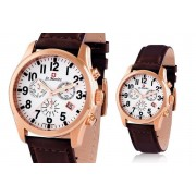 Men's Rotary Leather Watch